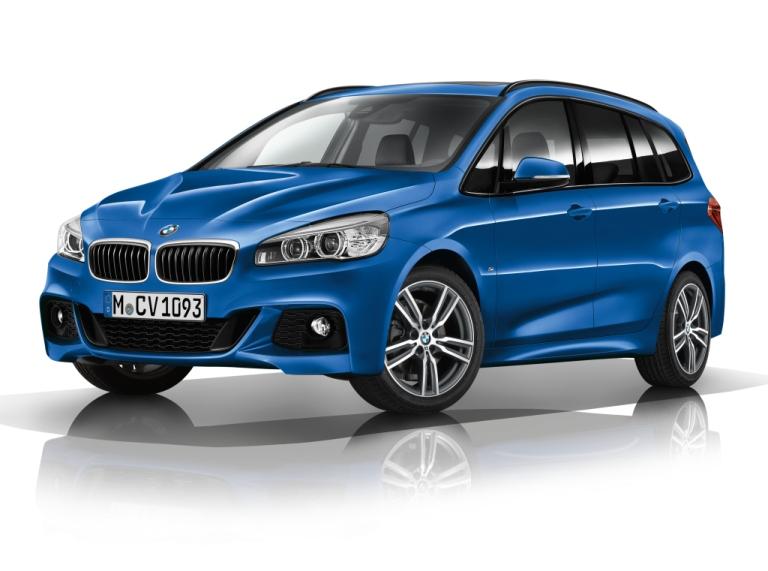 BMW 2 ACTIVE GRAN TOURER (F46) (2015-) PRÉMIOVÉ TEXTILNÉ AUTOKOBERCE