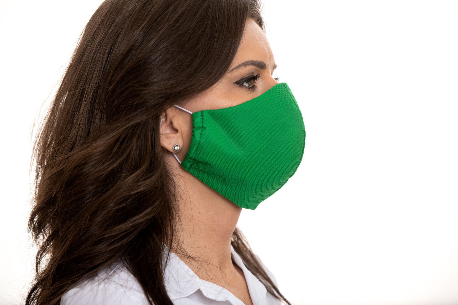 Rúška na tvár – Zelená (5 kusové balenie)  OCHRANNÉ RUŠKA