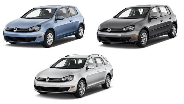 VW GOLF VI (2009-2012) SLNEČNÉ CLONY