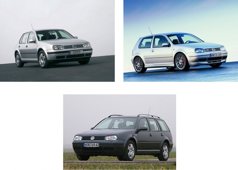 VW GOLF IV (1997-2003) SLNEČNÉ CLONY
